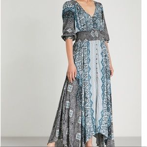 FREE PEOPLE Mexicali rose woven maxi dress